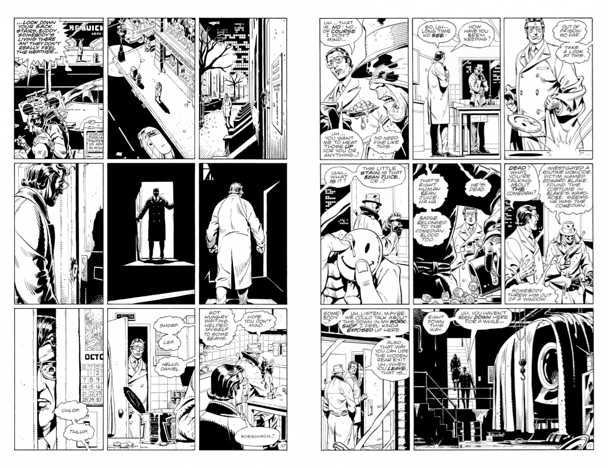 Dave Gibbons sequential art
